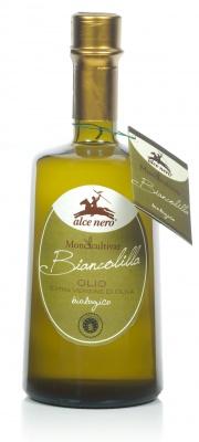 """Olio extravergine di oliva monocultivar biologico """"Biancolilla"""""""