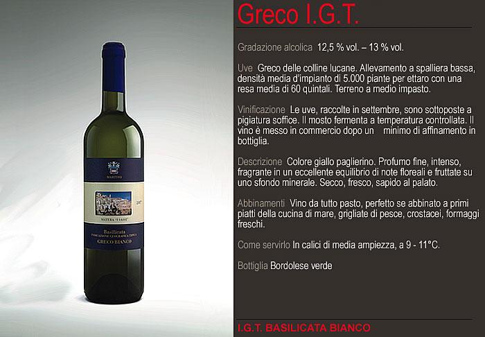 Acquistare Vino Greco IGT