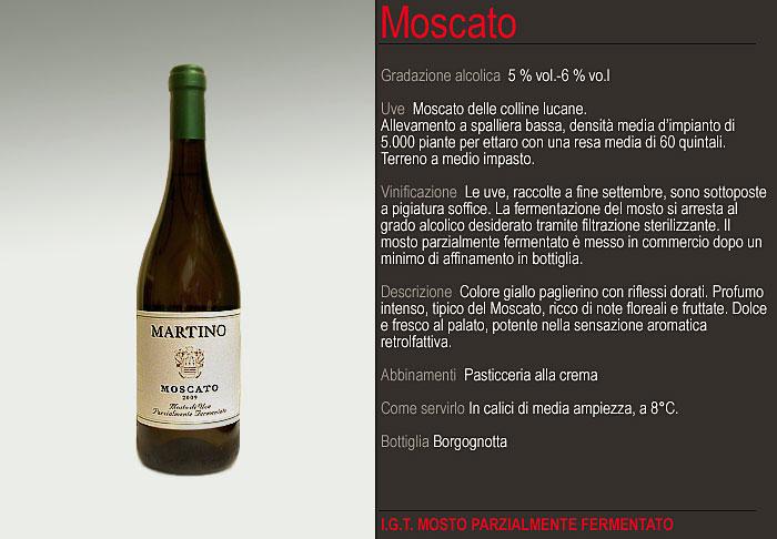 Compro Vino Moscato