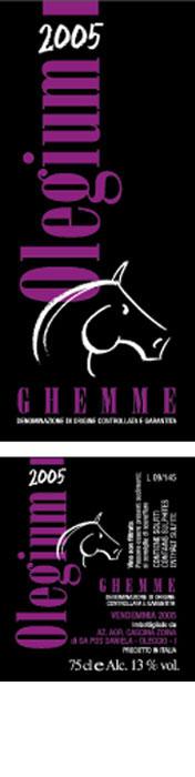 Compro Vino Ghemme Olegium – 2005