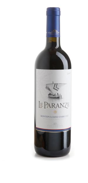 Compro Vino Le Paranze Montepulciano d'Abruzzo DOC