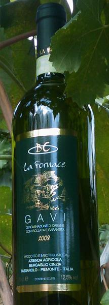Compro Vino La Fornace