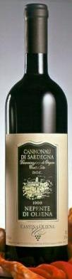 Compro Nepente di Oliena Cannonau Doc. cl 75