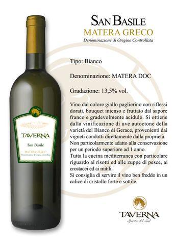 Compro Vino San Basile