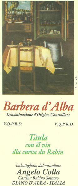 Compro Vino Barbera d'Alba