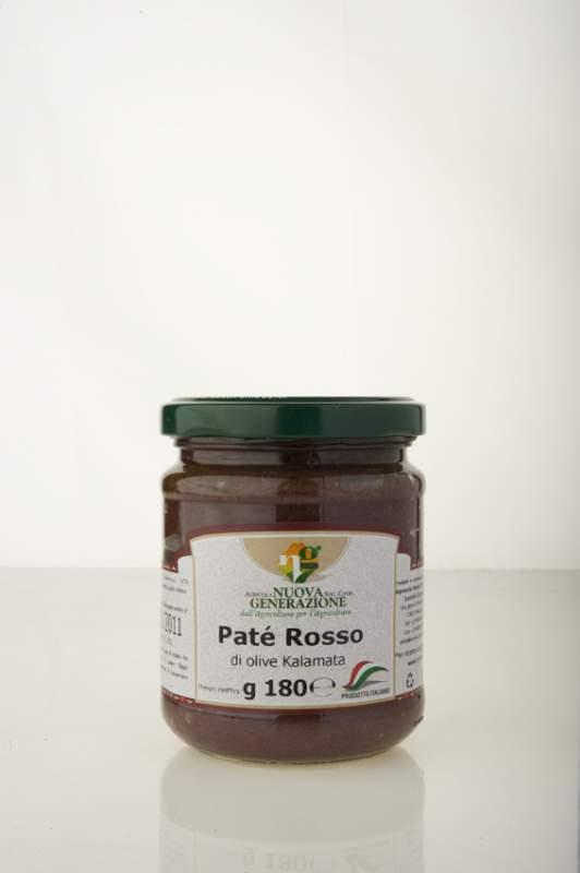 Acquistare Pate` rosso di olive kalamata