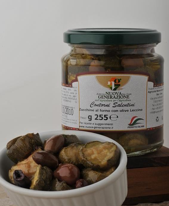 Acquistare Zucchine al forno con olive leccine