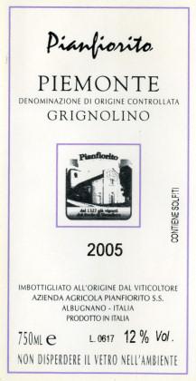 Compro Vino Piemonte Grignolino DOC