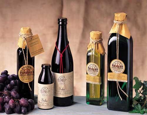 La Saba  Il condimento aromatico  L'olio extravergine d'oliva