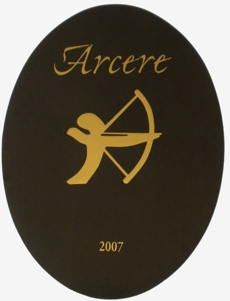 """Compro Vino Rosso Orcia d.o.c. """"Arcere"""" - annata 2007"""