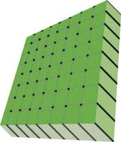 Compro Pannello in pvc espanso rigido reticolare NYcell Groove Densità 55 Sp.3 mm