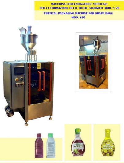 Compro Macchina confenzionatrice verticale per la formazione delle buste sagomate mod. S20