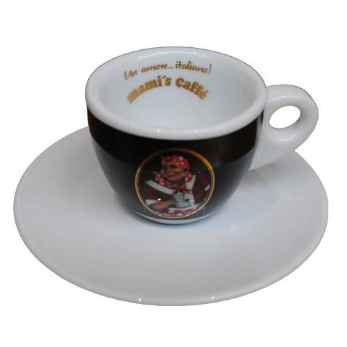 Acquistare Tazzina da caffè espresso con logo nero Mami's Caffe