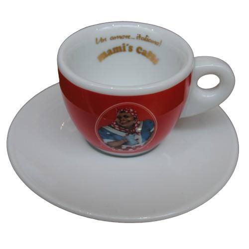Acquistare Tazza da caffè espresso con logo rosso Mami's Caffè