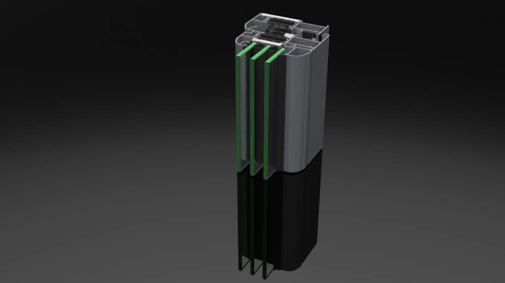 Compro DREAM 80 - sistema in alluminio a taglio termico, ad elevate prestazioni.