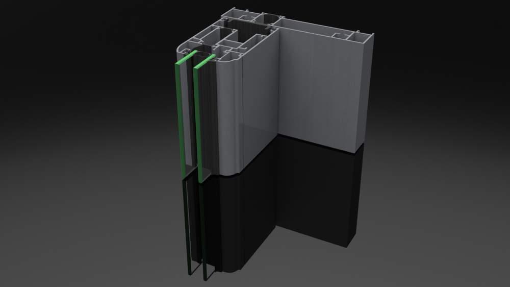 Compro AS170 - il sistema in alluminio a taglio termico per alzanti scorrevoli.