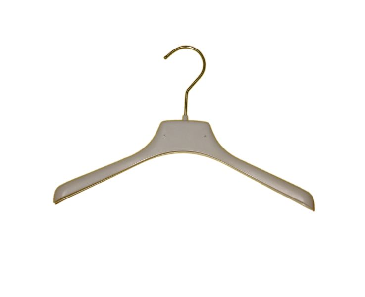 Acquistare Gruccia per t-shirt e giacchine, misura 31cm, col.bianco