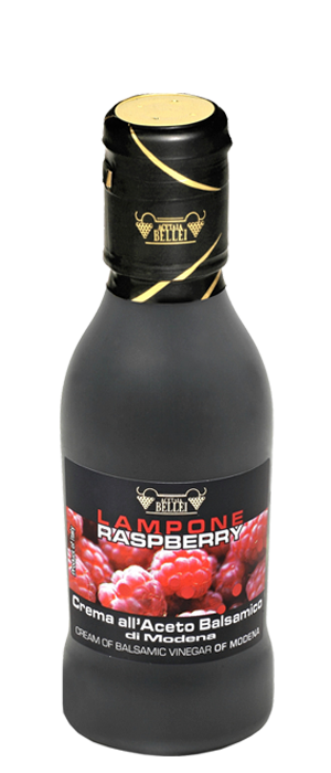 Crema all'Aceto Balsamico Aroma Lampone  Creme e Condimenti Balsamici
