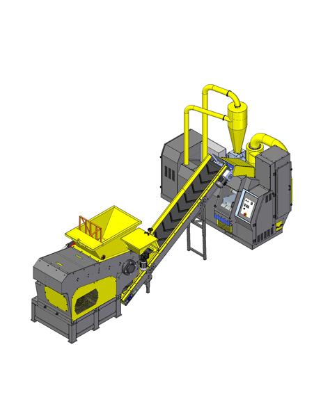 Compro Impianto per trattamento cavi auto 3000T-CL