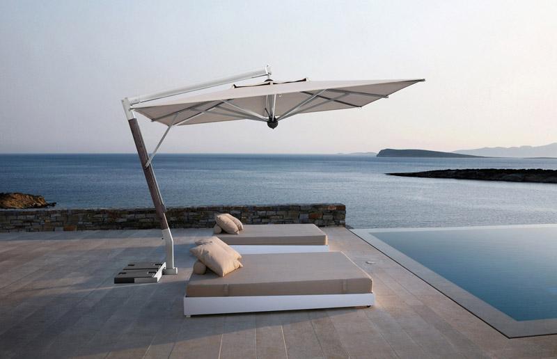Compro Aluminium Garden Parasol Swimming Pool Parasols