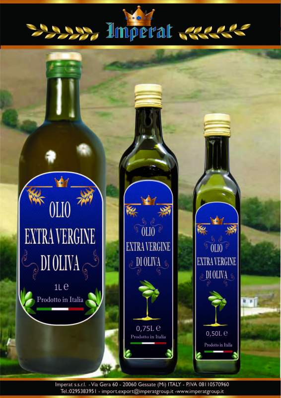 Compro Olio EXTRA VERGINE di oliva