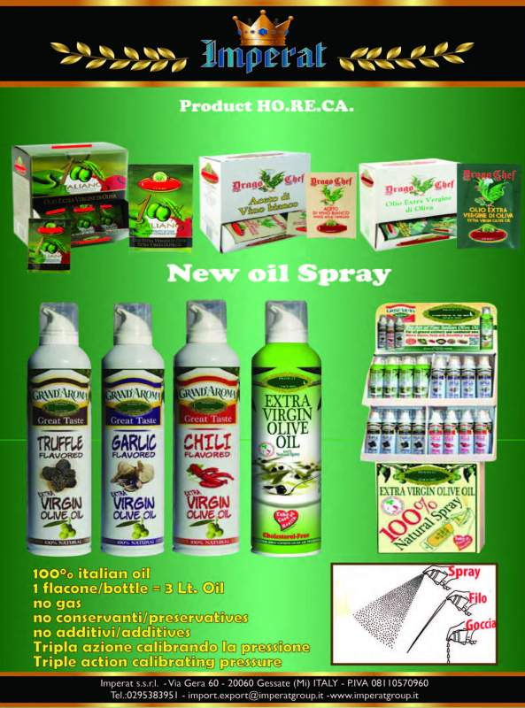 NEW!!! Spray Olio di oliva