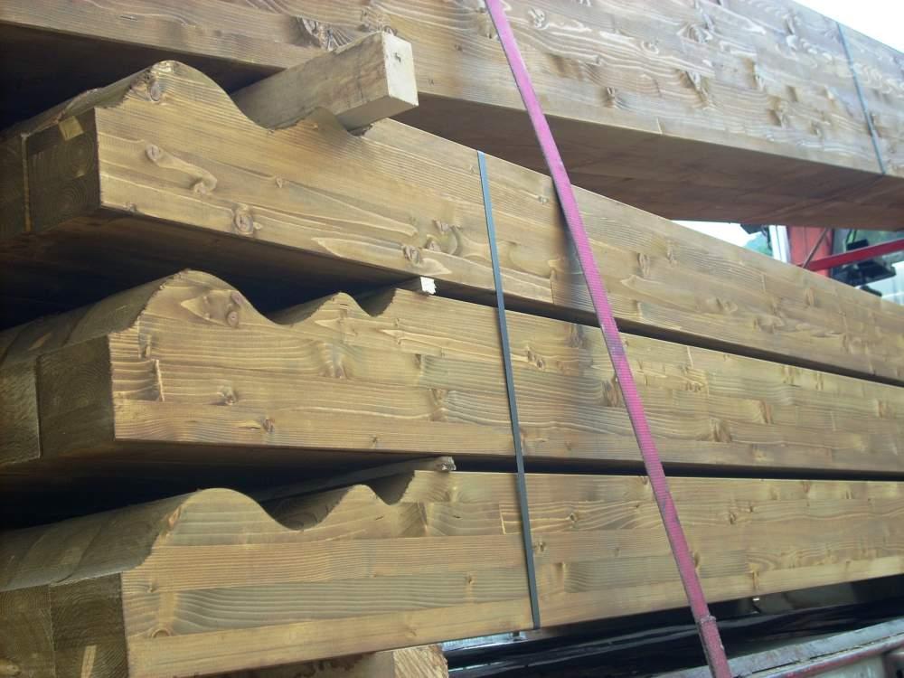 Travi in legno lamellare