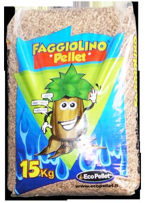 Compro ECO PELLET Faggiolino 22 bancali da 78 sacchi 15 Kg. cadauno Prezzo valido per Campania, Basilicata e Puglia