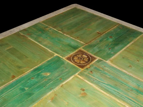 Tavolo legno e pietra