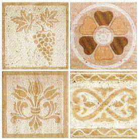 Mattonelle decorate serie Etruscan Line