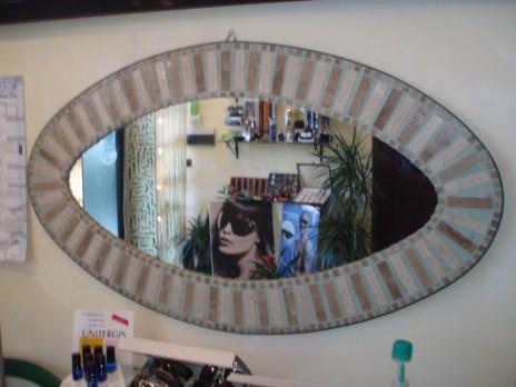 Compro Specchiere in pietra / Specchiera mosaico ovale