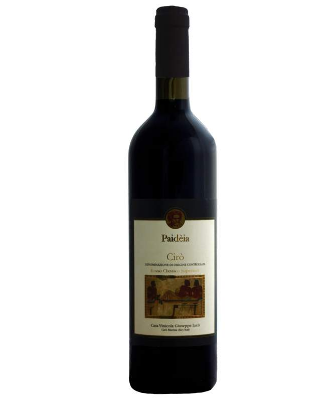 Paidèia rosso 75 cl