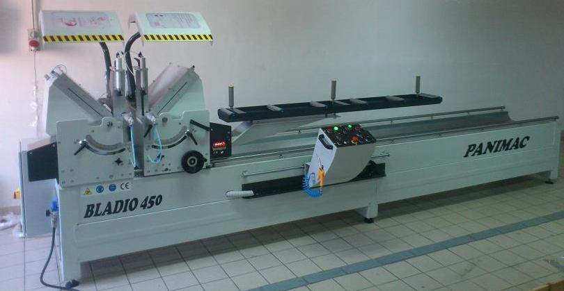 Compro Troncatrice doppia testa 450mm-500mm