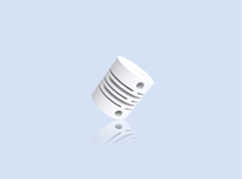 Compro Plastic coupling for incremental and absolute encoders