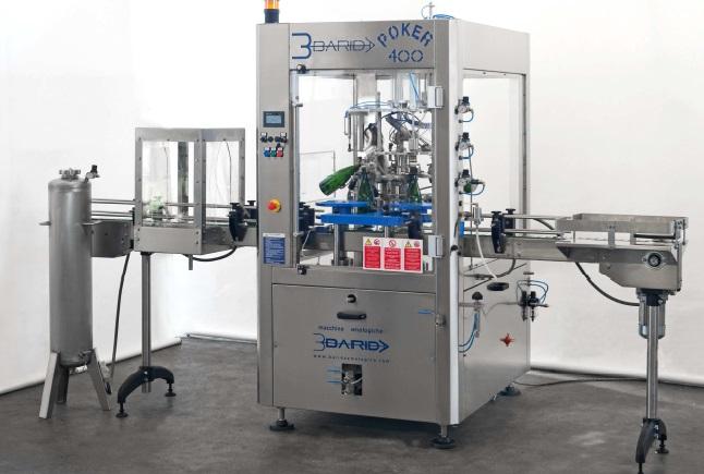 Compro BARIDA POKER 400 - Monoblocco automatico per degorgiatura, scolmatura, dosaggio del liqueur e livellatura