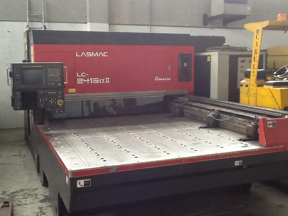 Compro Laser Amada Lc2415 da 1500w