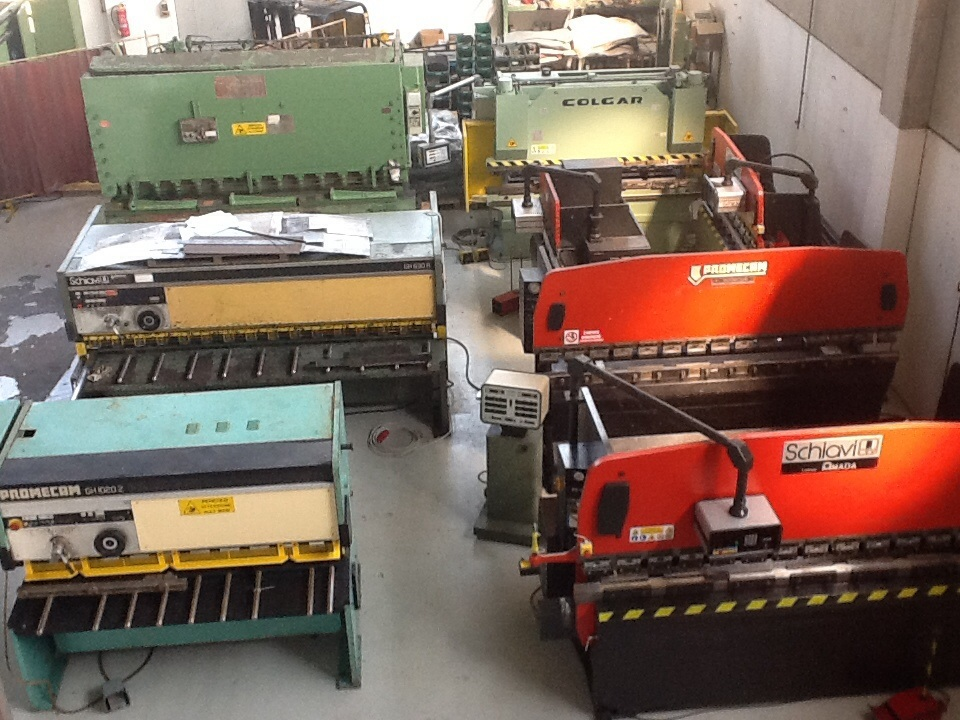 Compro SCHIAVI RG 35/25 CNC MASTER 3 ASSY