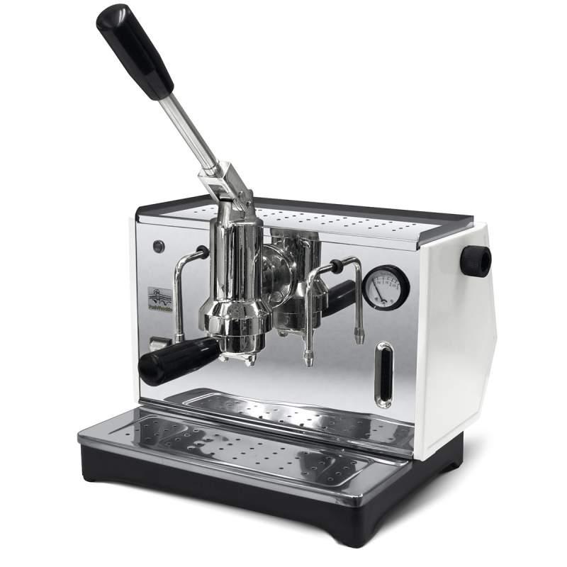 Macchina da Caffè INOX Bar Lusso a Leva 1 Gruppo per cialde o caffe macinato 1000 watt Pontevecchio