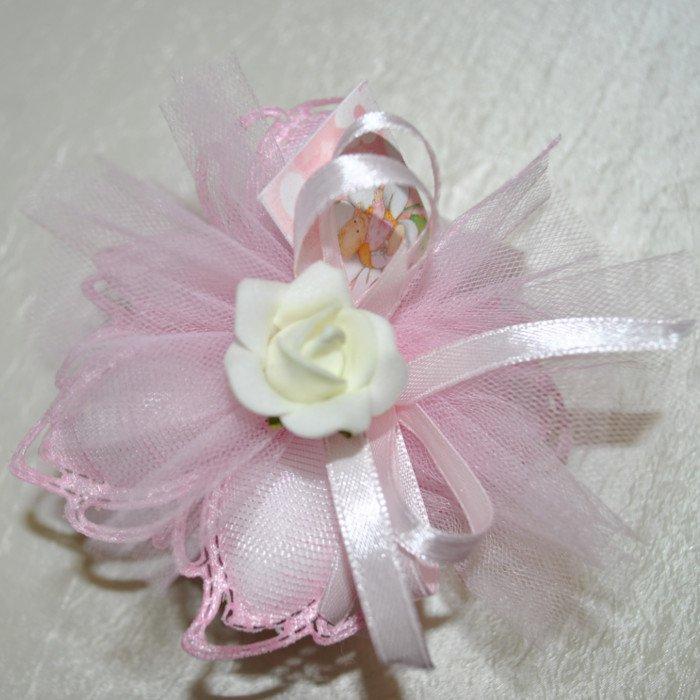 Compro Marturii nunta si botez 'Petale de floare' cu trandafir
