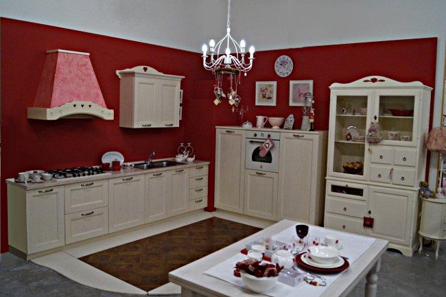 Acquistare Cucina shabby frassino decapè, colorazione a richiesta