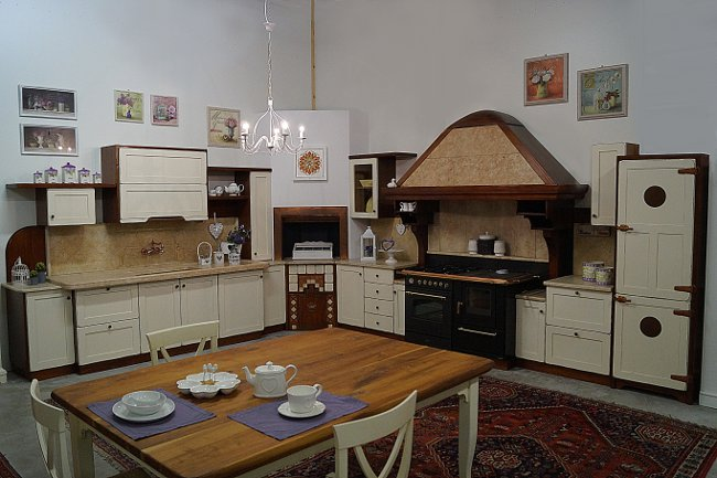 Cucine shabby e country Pulce Reale