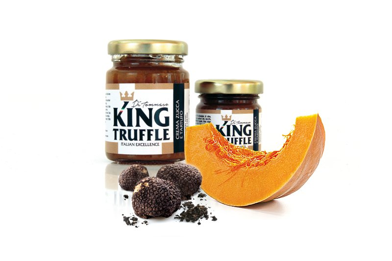 Acquistare Pumpkin and Black Truffle Cream - King Truffle - Italian Excellence