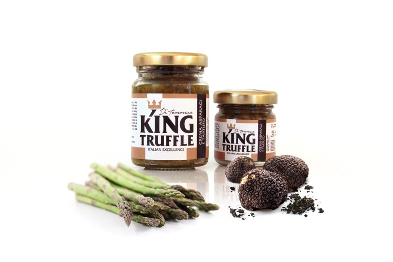 Compro Asparagus and Black Truffle Cream - King Truffle - Italian Excellence