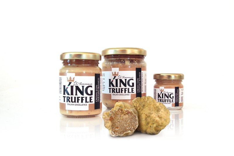 Compro Cream with White Truffle - King Truffle - Italian Excellece