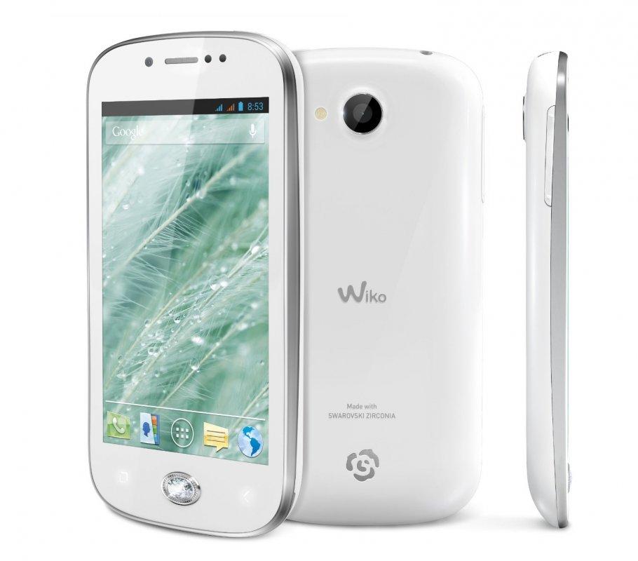 "Compro Cellulare Dual Sim WIKO SUBLIM 4"" Swarovski Zirconia Android 4.1.1 Jelly Bean"