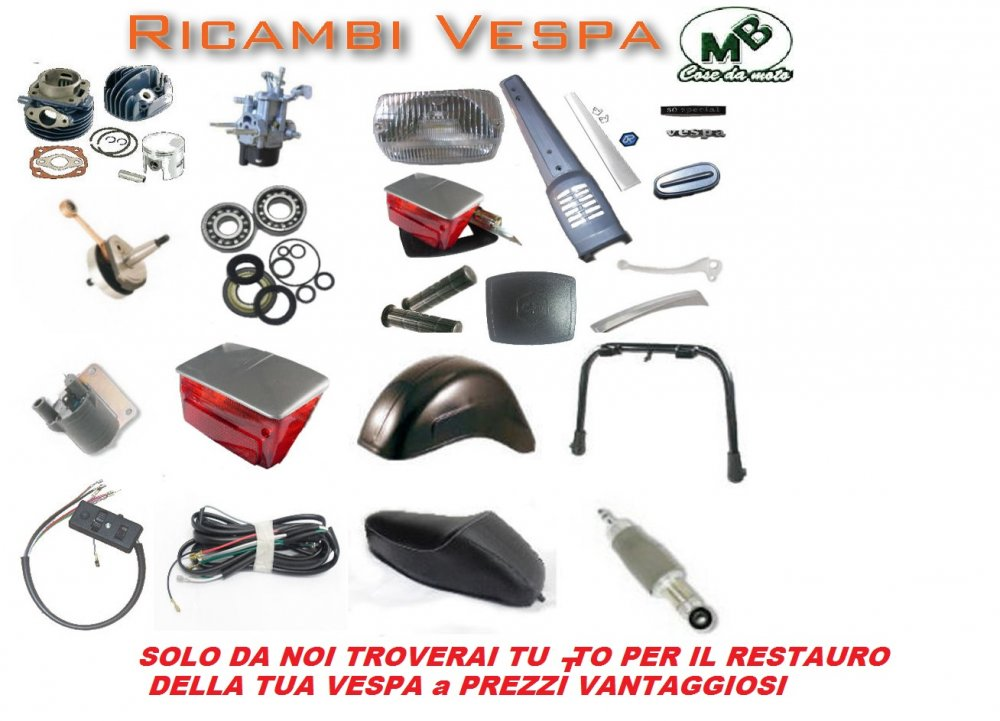 Compro KIT RESTAURO VESPA 50 SPECIAL