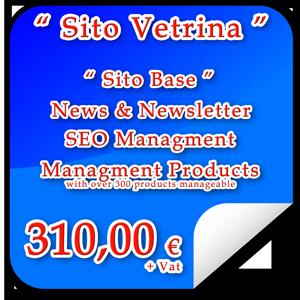 """Acquistare Sito Internet """"Vetrina"""""""