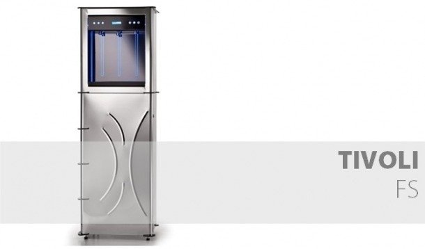 Compro Аппарат для выдачи холодной и газированной воды Tivoli Stand 32 PLEX|32 INOX