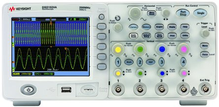 Compro OSCILLOSCOPIO AGILENT TECHNOLOGY DSO 1024 A -200mhz -4 CANALI