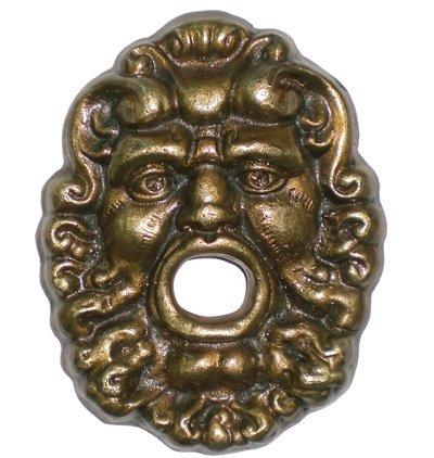 Acquistare Rosone fontana a parete Zeus in ottone